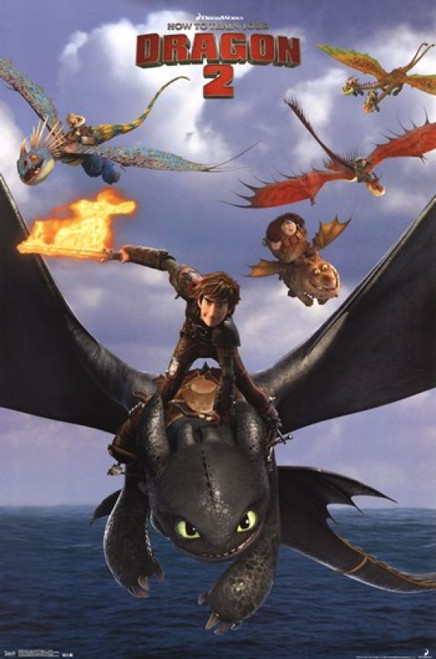 Dreamworks How to Train Your Dragon 2 - Flight Poster Print - Item # VARTIARP2226