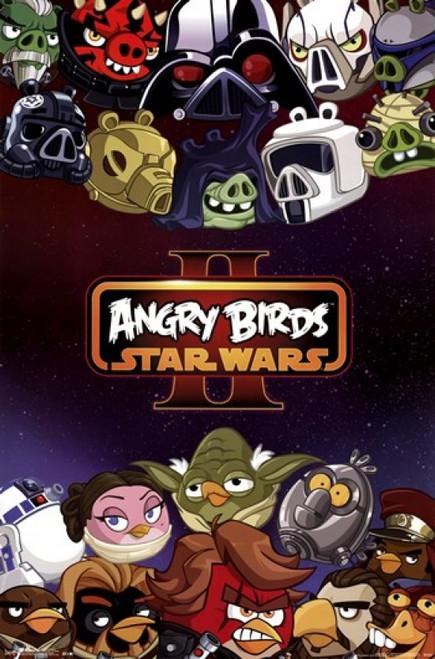 Angry Birds Star Wars 2 - Characters Poster Print - Item # VARTIARP2183
