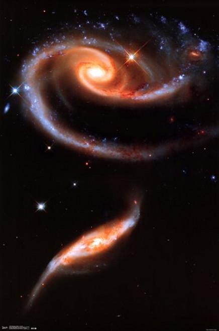 Galaxies Collide - Arp 273 Poster Print - Item # VARTIARP13407