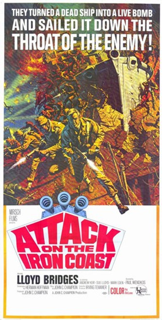 Attack on the Iron Coast Movie Poster (11 x 17) - Item # MOV235100