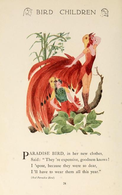 Bird Children 1912 Paradise Bird Poster Print by  M.T. Ross - Item # VARPPHPDA65784