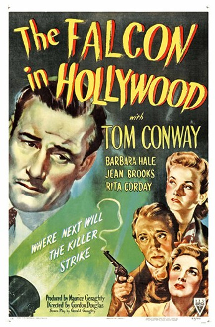 The Falcon in Hollywood Movie Poster (11 x 17) - Item # MOV417116