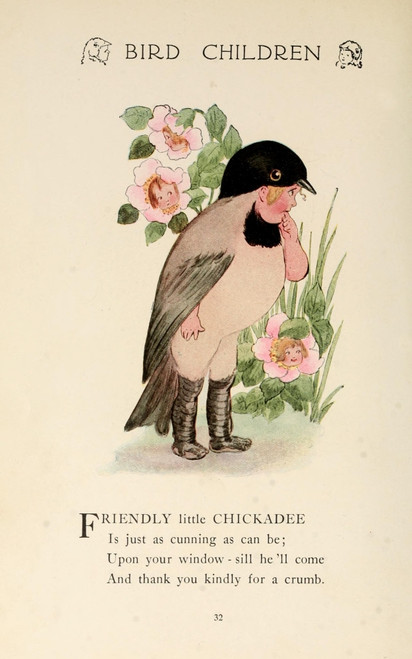 Bird Children 1912 Chickadee Poster Print by  M.T. Ross - Item # VARPPHPDA65309