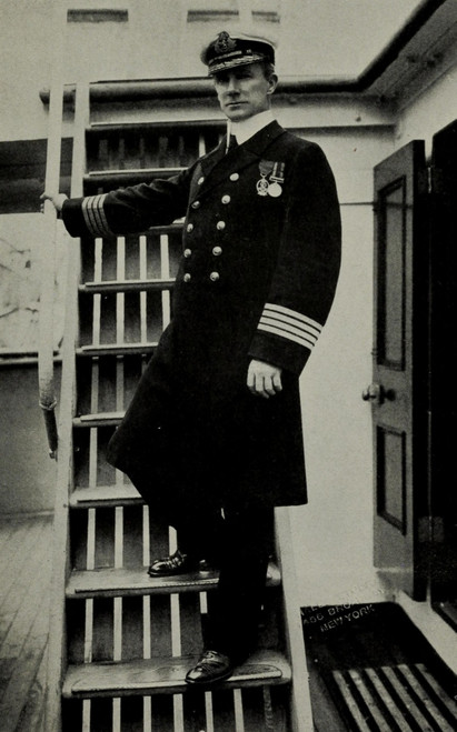 Photo Truth about the Titanic 1913 Captain Rostron of the SS Carpathia Poster Print - Item # VARPPHPD50640
