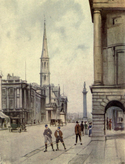Charm of Edinburgh 1913 George Street Poster Print by  Harry Morley - Item # VARPPHPDA60467