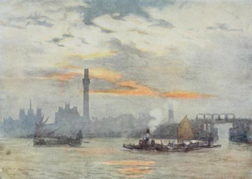 Scenery of London 1905 Lambeth Poster Print by  Herbert Marshall - Item # VARPPHPDP83415