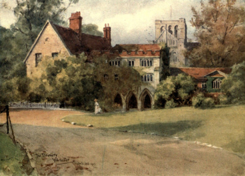 Winchester 1910 Deanery Poster Print by  Wilfrid Ball - Item # VARPPHPDP90899