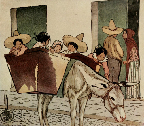 The Breadman's Donkey Poster Print by  Helen Hyde - Item # VARPPHPDP81012