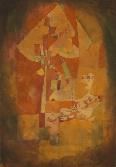 The Man under the Pear Tree 1921 Poster Print by  Paul Klee - Item # VARPPHPDP91097