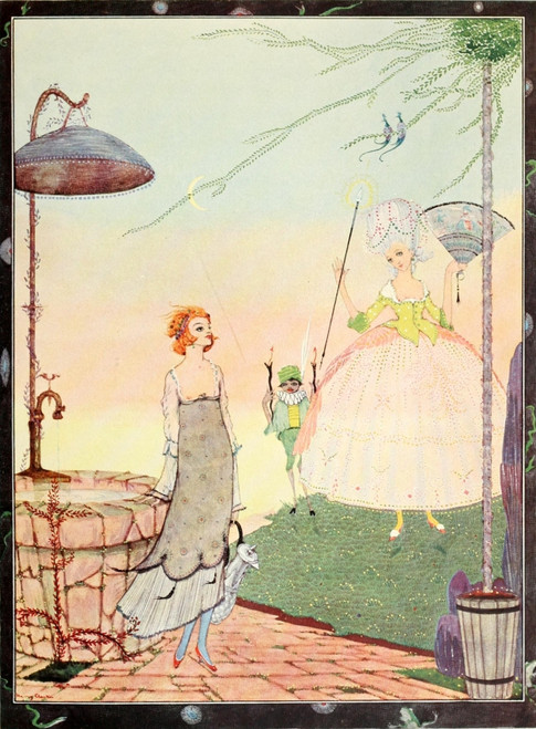 The Fairy Tales of Charles Perrault 1922 The Fairy Poster Print by  Harry Clarke - Item # VARPPHPDP90035