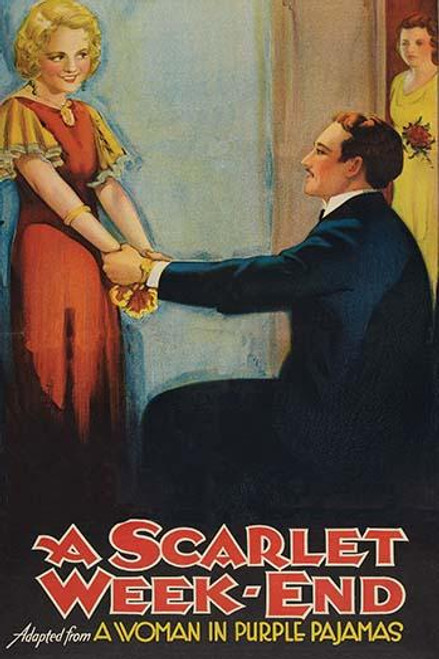 A Blonde embraced by the hands from a seated Gentleman Poster Print by Unknown - Item # VARBLL058763011L