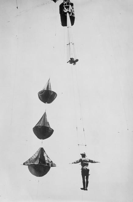 Parachute jump Poster Print - Item # VARBLL058748111L
