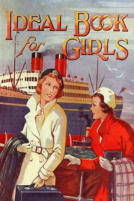 A book cover for a book with stories designed to interest young girls. Poster Print - Item # VARBLL0587313129
