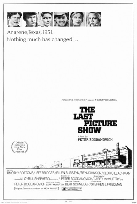 The Last Picture Show Movie Poster Print (27 x 40) - Item # MOVIF0290