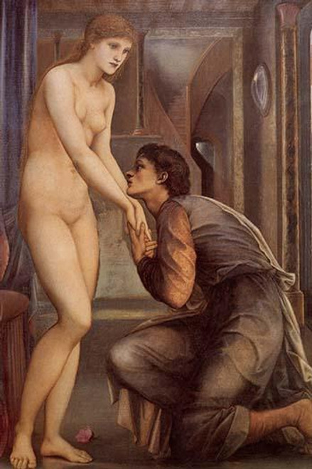 Pygmalian:The Soul Attains IV Poster Print by Edward Burne-Jones - Item # VARBLL058761071L