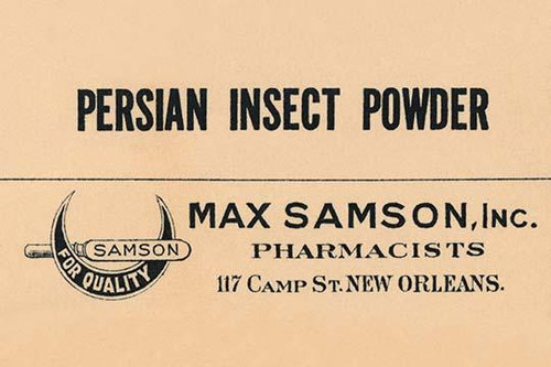 A bottle label for a pharmacy dispensed insecticide. Poster Print by unknown - Item # VARBLL0587268417