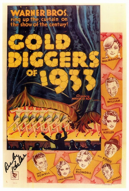 Gold Diggers of 1933 Movie Poster Print (27 x 40) - Item # MOVEF4178