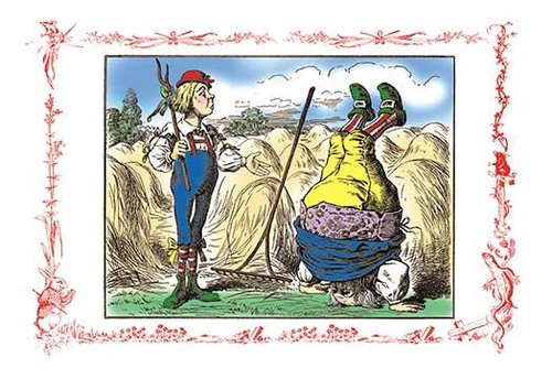Sir John Tenniel was an English illustrator best remembered for his work in Lewis Carroll's Alice's Adventures in Wonderland and Through the Looking-Glass. Poster Print by John Tenniel - Item # VARBLL0587170883