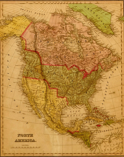 North America - 1844 Poster Print - Item # VARBLL058758045L