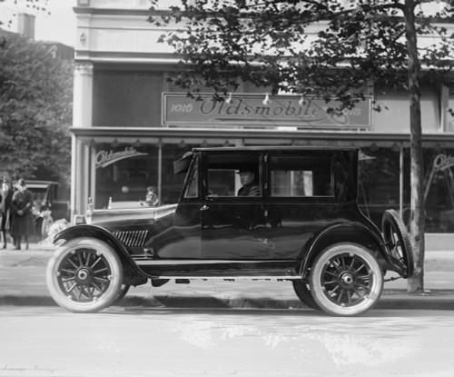 Oldsmobile in front of Dealership in DC Poster Print - Item # VARBLL058748760L