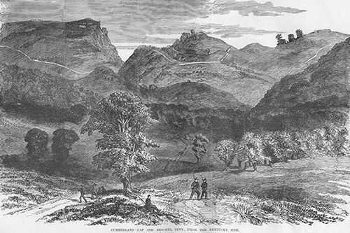 Cumberland Gap & Heights, Tennesee Poster Print by Frank  Leslie - Item # VARBLL0587328568