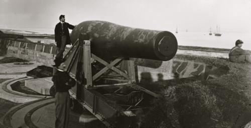 "Fort Monroe, Va. The ""Lincoln Gun,"" a 15-inch Rodman Columbiad Poster Print - Item # VARBLL058752220L"