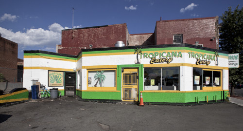 Stand alone restaurant on a parking lot Poster Print - Item # VARBLL058759391L