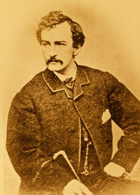 Portrait John Wilkes Booth Poster Print - Item # VARBLL058748921L
