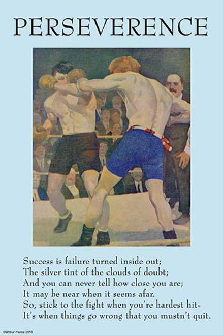 Perseverance, Success, Clouds, Poster Print by unknown - Item # VARBLL0587272333