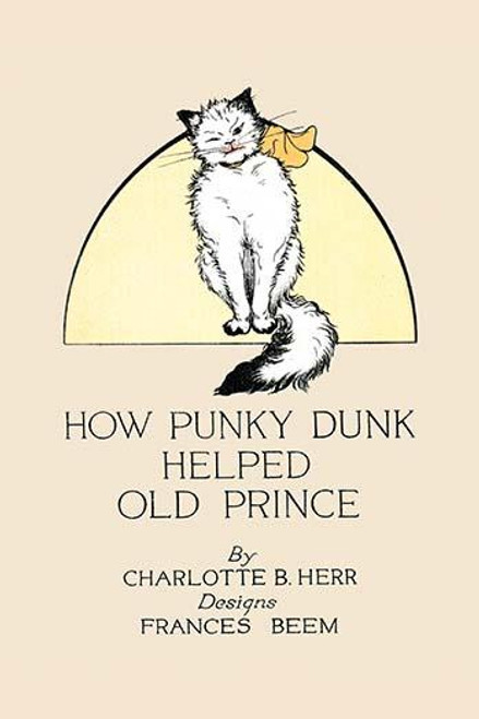 A book cover with a cat.  An illustration from a series of children's books which came free with the Public Ledger newspaper. Poster Print by Frances Beem - Item # VARBLL0587272503