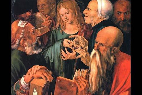 Christ teaches the learned men Poster Print by Albrecht Durer - Item # VARBLL0587289732