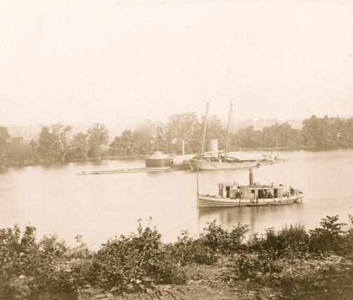 The Monitor CANONICUS, James River, Va. Poster Print - Item # VARBLL058745647L