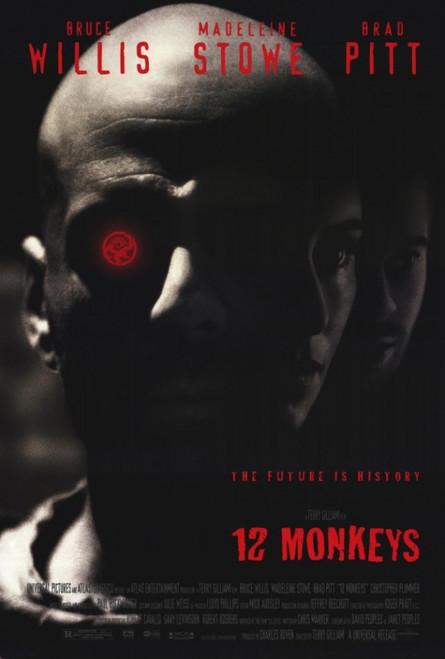 12 Monkeys Movie Poster Print (27 x 40) - Item # MOVIF8192