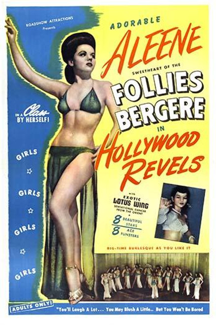 Poster for a burlesque review by Roadshow attractions Poster Print by unknown - Item # VARBLL0587287802