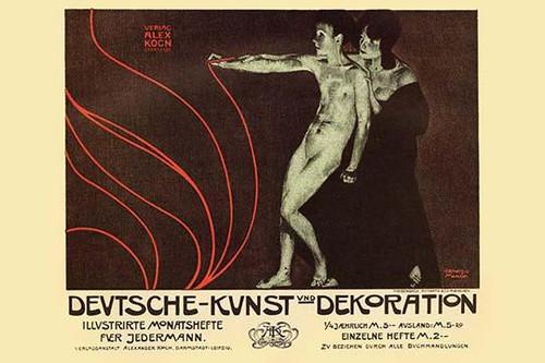 German Art Decoration Magazine by Subscription Poster Print by Alphonse Mucha - Item # VARBLL058761461L
