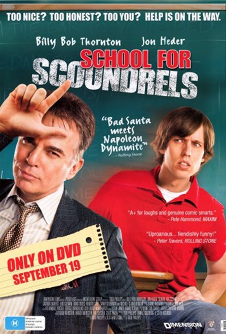 School for Scoundrels Movie Poster (11 x 17) - Item # MOV403368