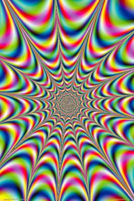 Fractal Illusion Poster Print (24 x 36) - Item # PYR24045