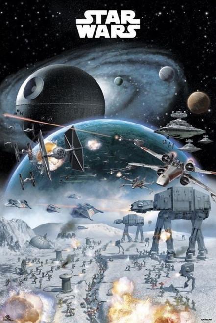 Star Wars Battle Poster Print (24 x 36) - Item # XPE160358
