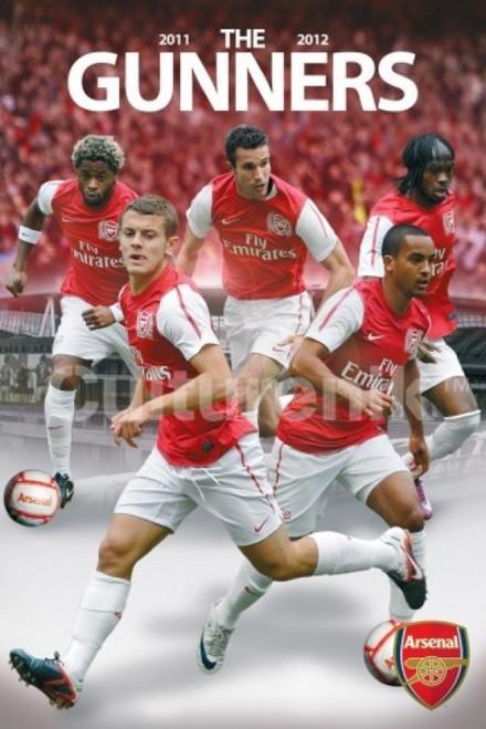 Arensal FC The Gunners 2011-2012 Poster Print (36 X 24) - Item # IMPST5536R