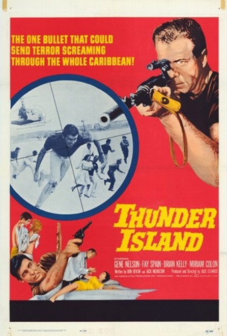 Thunder Island Movie Poster (11 x 17) - Item # MOV248943