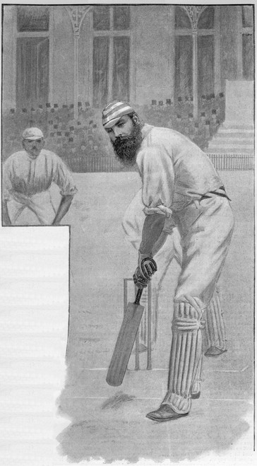 W G Grace At The Wicket Poster Print By Mary Evans Picture Library/Peter & Dawn Cope Collection - Item # VARMEL10508576