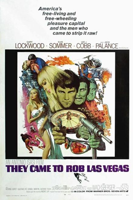 They Came to Rob Las Vegas Movie Poster (11 x 17) - Item # MOV255069