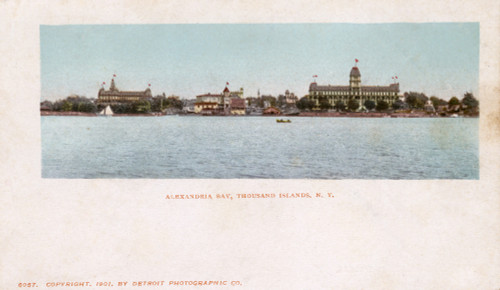 Alexandria Bay  Thousand Islands  Usa Poster Print By Mary Evans / Grenville Collins Postcard Collection - Item # VARMEL10698613