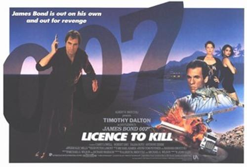 Licence to Kill Movie Poster (17 x 11) - Item # MOV221206