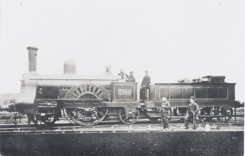 Locomotive No 1840 'Pegasus' Poster Print By The Institution Of Mechanical Engineers / Mary Evans - Item # VARMEL10509880