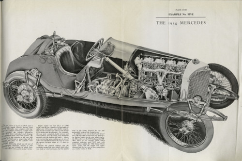 1914 Mercedes Poster Print By The Institution Of Mechanical Engineers/Mary Evans - Item # VARMEL10699871