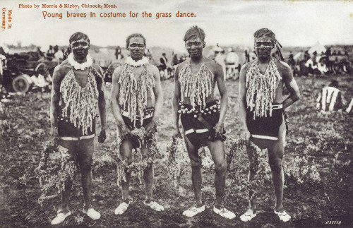 Chinook Grass Dance - Young Braves Poster Print By Mary Evans / Grenville Collins Postcard Collection - Item # VARMEL10502187