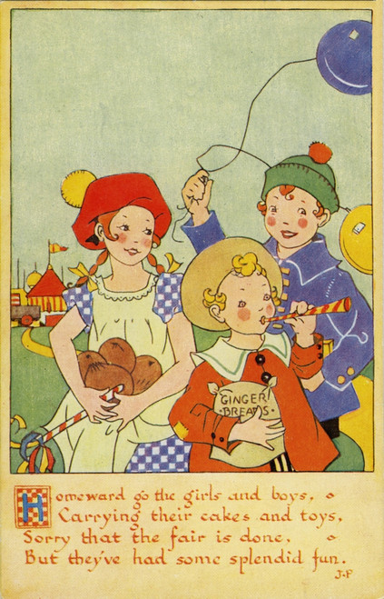 A Day At The Fair Poster Print By Mary Evans Picture Library/Peter & Dawn Cope Collection - Item # VARMEL10804460