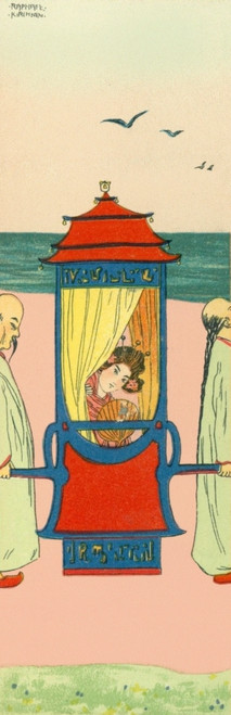 Geisha In Her Sedan Chair Poster Print By Mary Evans Picture Library/Peter & Dawn Cope Collection - Item # VARMEL10821564