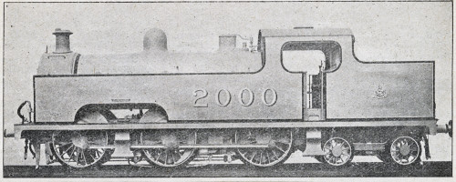 Locomotive No 2000 0-6-4 Tank Engine Poster Print By The Institution Of Mechanical Engineers / Mary Evans - Item # VARMEL10509943